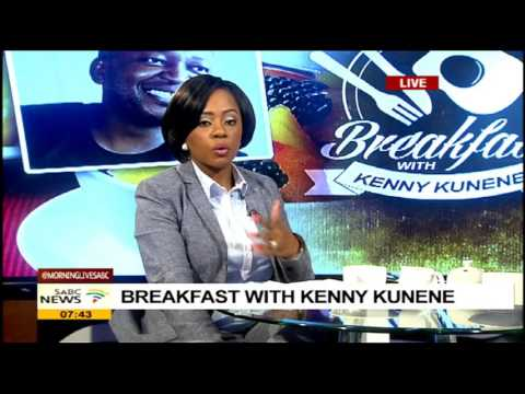 Breakfast with Kenny Kunene: (He wants a public debate with Malema)