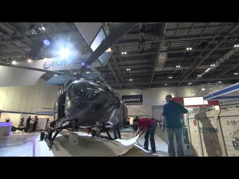 Helitech 2013 - Eurocopter on the starting block