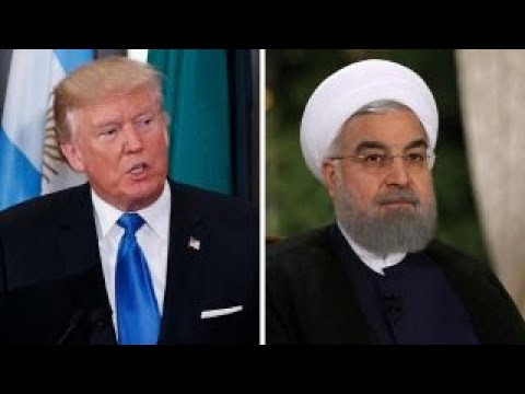 Trump teases nuke deal decision as Rouhani hits back