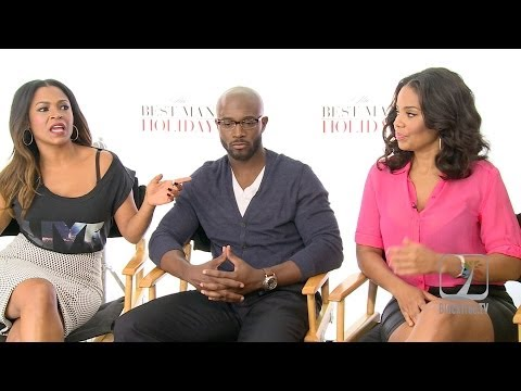 Nia Long, Taye Diggs and Sanaa Lathan interview The Best Man Holiday