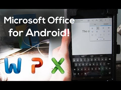 Microsoft Office For Android!