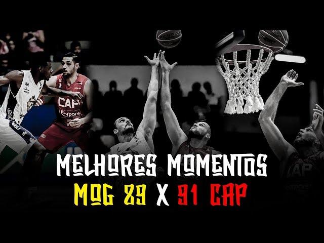 Melhores Momentos - MOG 89 x 91 CAP | NBB 2018-2019