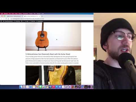 Are Guitar Stands Bad For Your Guitar?