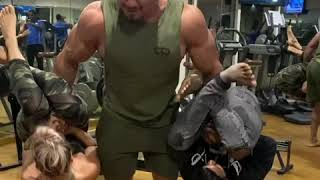 LARRY WHEELS HUMAN CURLS WITH ME FT NICOLE DRINKWATER