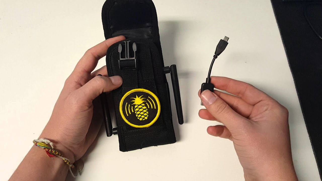 WiFi Pineapple NANO Tactical setup