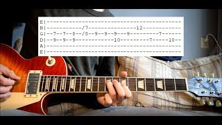 King Krule - Midnight 01 (Deep Sea Diver) Guitar Lesson