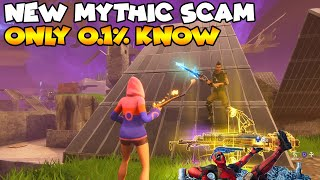 New Mythic Scam 0.1% Know! 💯😱 (Scammer Gets Scammed) Fortnite Save The World