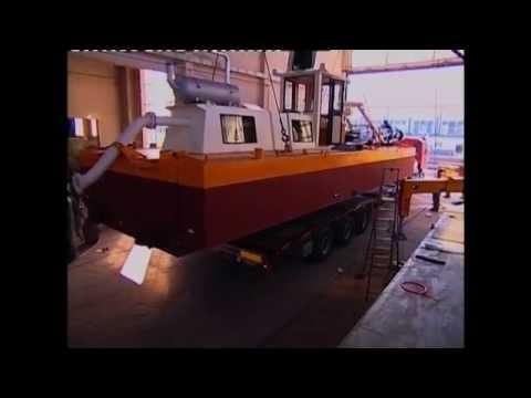 Italdraghe - Dredger launch