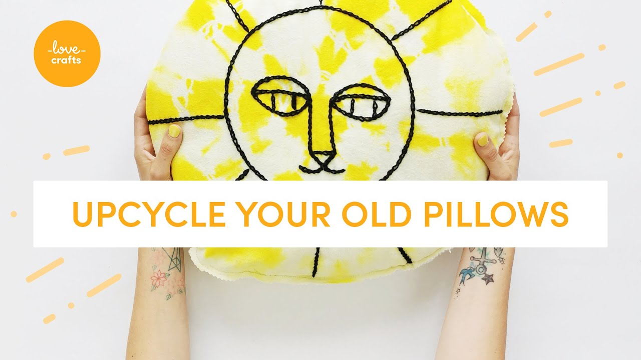 3 ideas to UPCYCLE your old pillows!   craft #withme