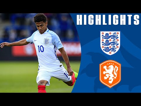 Excellent Free Kick from Marcus Edwards in Dominant Win | England U20 3-0 Netherlands ​| Highlights