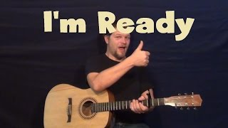 i m ready ajr easy guitar lesson how to play tutorial