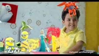 Zizi - Imronjon bolami sevimli reklama roligi mpeg4
