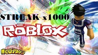 Roblox Blox No Hero Academia - Premium Gym x1000 Streak