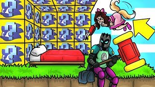Minecraft: SONIC LUCKY BLOCK BEDWARS! - Modded Mini-Game