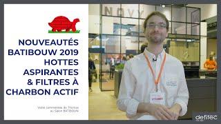 BATIBOUW 2019 - Nouveautés pour les Hottes de cuisine - Visite commentée du salon - Ep.4