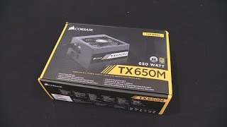 Corsair TX650M Gold Rated Power Supply