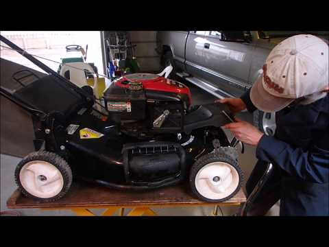 Craftsman Self Propel Mower Wouldn't Start