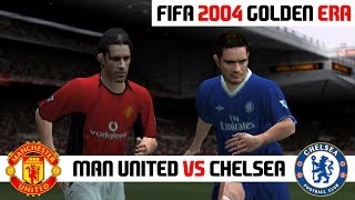 FIFA 2004 / Manchester United vs Chelsea / PC Gameplay HD