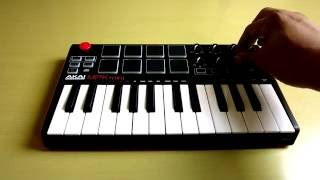 Akai MPK Mini - MKII   Unboxing and Overview