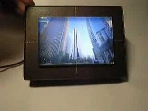 DIY EL backlit photo frame - YouTube