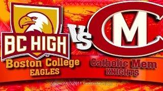 14 - Hockey Highlights - Catholic Memorial at Boston College HS