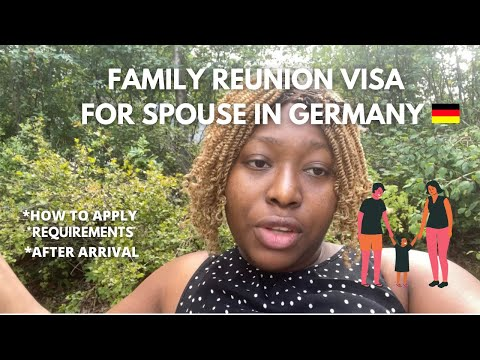 German Family Reunion Visa   Step by Step Process for Spouse   What to do After Arrival in Germany