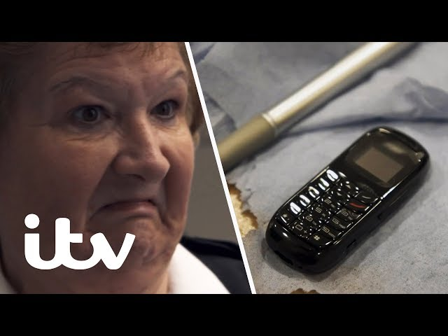 Searching for the Tiniest Phones Smuggled Into Prison! | The Best Little Prison in Britain?