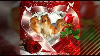 Zum Valentinstag wünsche ich Euch alles liebe