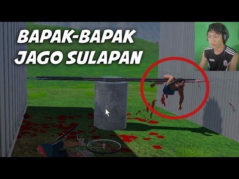 Bapak Paling Extrim sak Dunia - Sepeda kocak | Guts and Glory - Happy Wheels 3D Indonesia