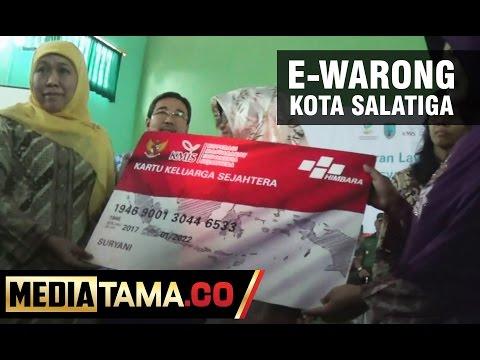 Mensos Luncurkan E-Warong di Kota Salatiga