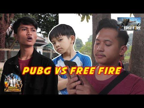 KAKA DIWAN MAIN FREE FIRE?? // PUBG VS FREE FIRE ( DEBAT NGAKAK ) - Collab With Fikri Fadlu