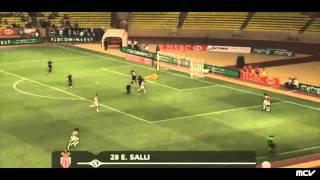 Monaco Amiens Ligue 2  4ème journée