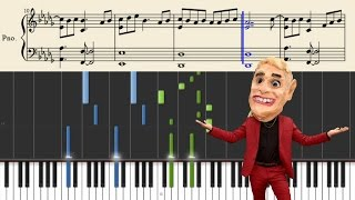 Mike Posner - I Took A Pill In Ibiza (Seeb Remix) - Piano Tutorial + Sheets