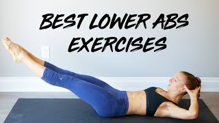 Best Exercises for Lower Abs | At Home Workout No Equipment