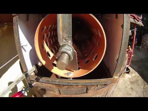 Zdrobitor struguri cu selector ciorchini(desciorchinator) - home made
