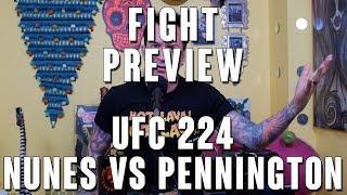 UFC 224: Amanda Nunes vs Raquel Pennington Fight Preview