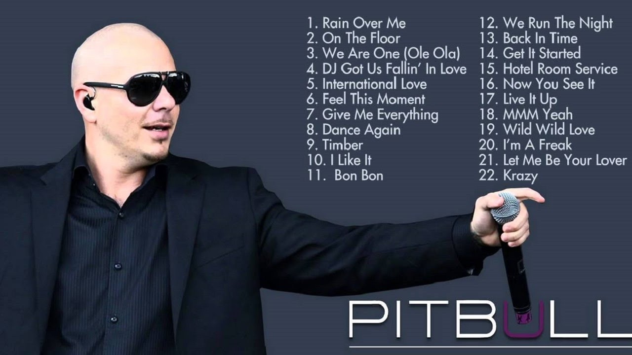 Pitbull Greatest Hits Playlist Pitbull New Songs 2016 Cover Cover Music Video Youtube
