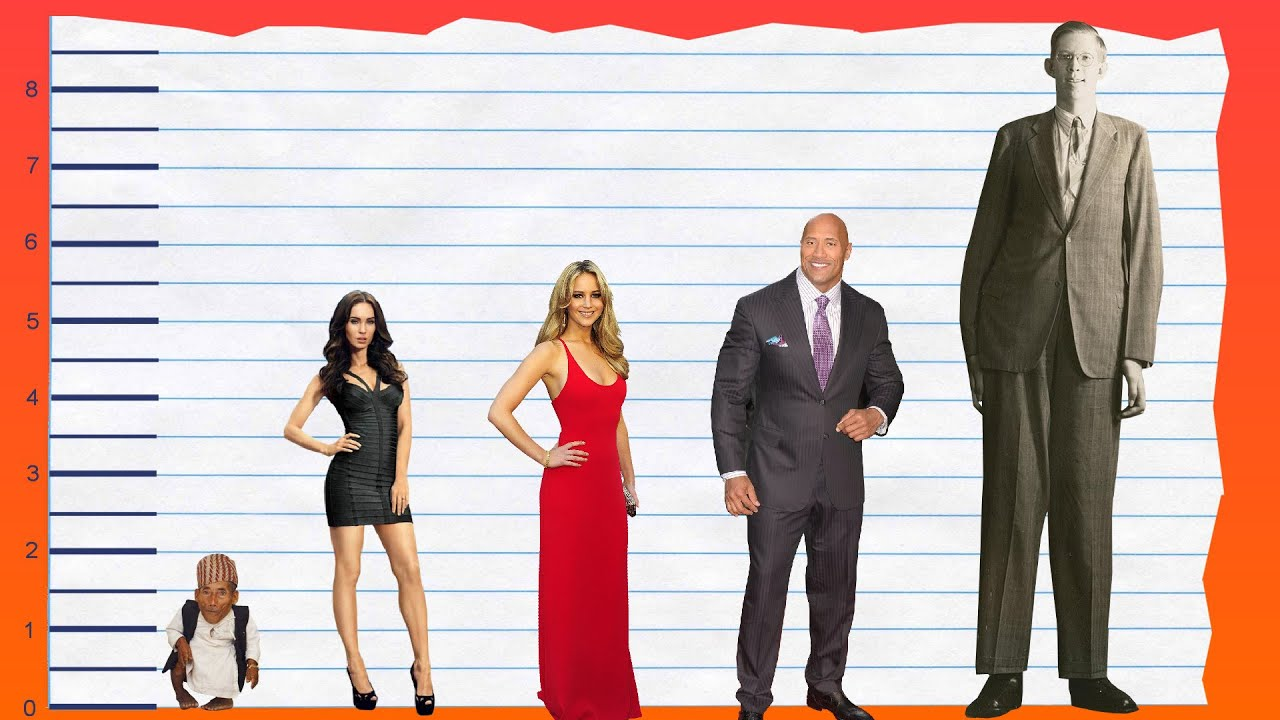 How Tall Is Megan Fox?  Height Comparison!  Youtube