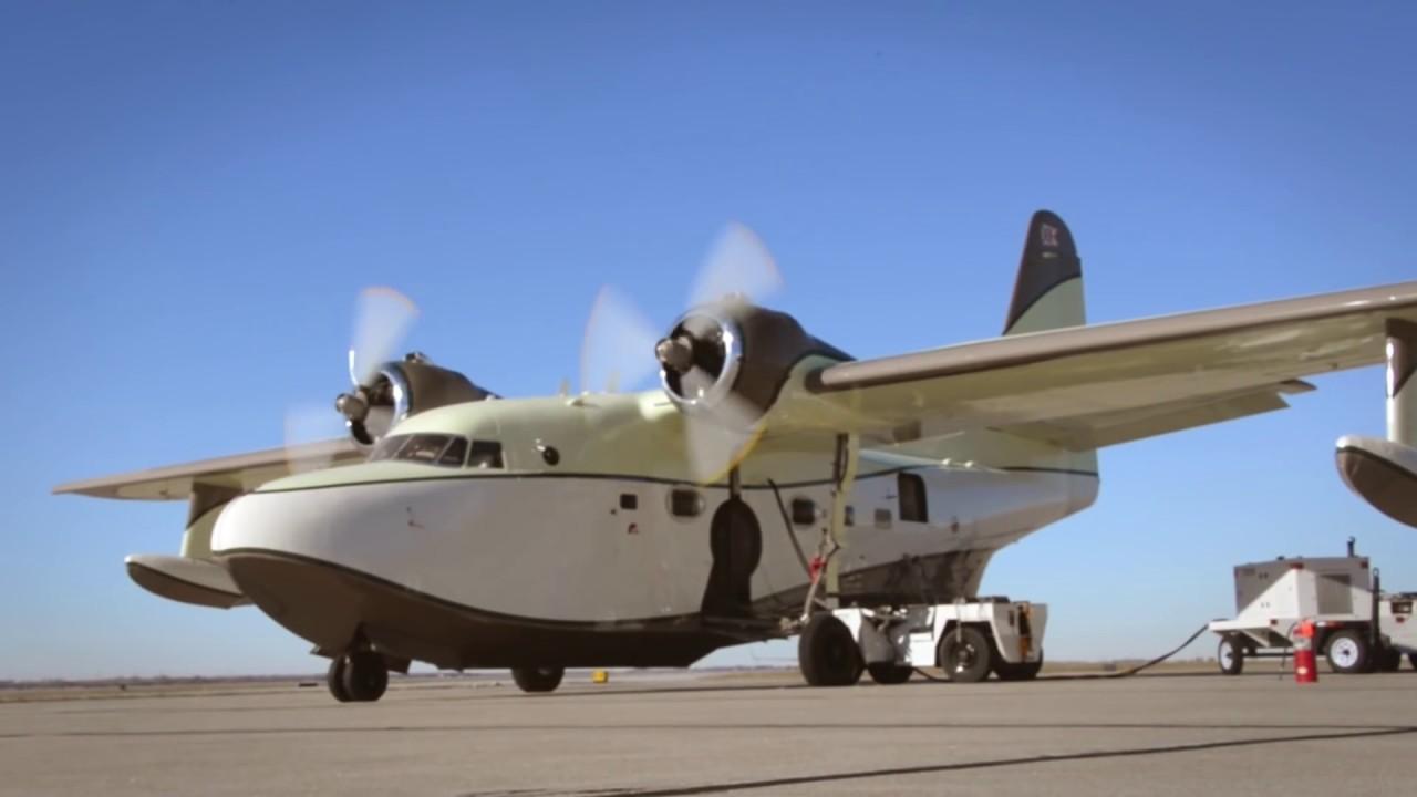 Grumman G 111 Albatross Interior Installation Duncan