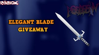 10,000 SUBSCRIBERS ELEGANT BLADE GIVEAWAY!!! *BIGGEST GIVEAWAY YET* (ROBLOX ASSASSIN GIVEAWAY)