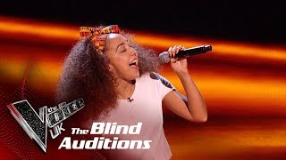 Kenza Blanka's 'Papaoutai' | Blind Auditions | The Voice UK 2019