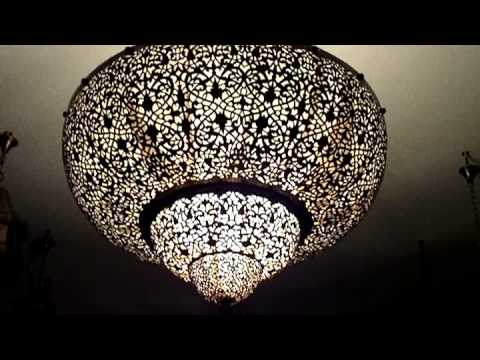 Moroccan Chandelier Moorish Lighting Spanish Chandelier Youtube