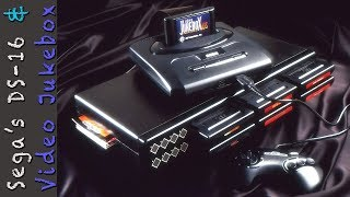 The Sega Genesis Video Jukebox System and DS-16 Video Game Switcher.