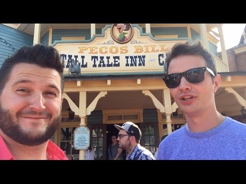 Pecos Bill Lunch Date with Ryno & Steve | Magic Kingdom