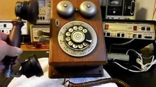 Western Electric Wood Wall Telephone Repair  www.A1-Telephone.com  618-235-6959