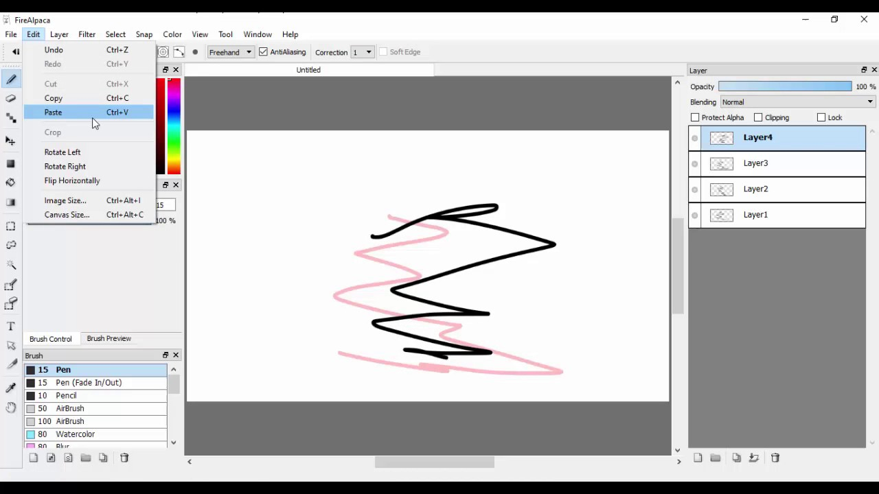Short tutorial: How to add frames on FireAlpaca