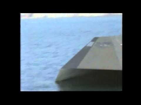 Sea Shadow - The US Navy Stealth Ship