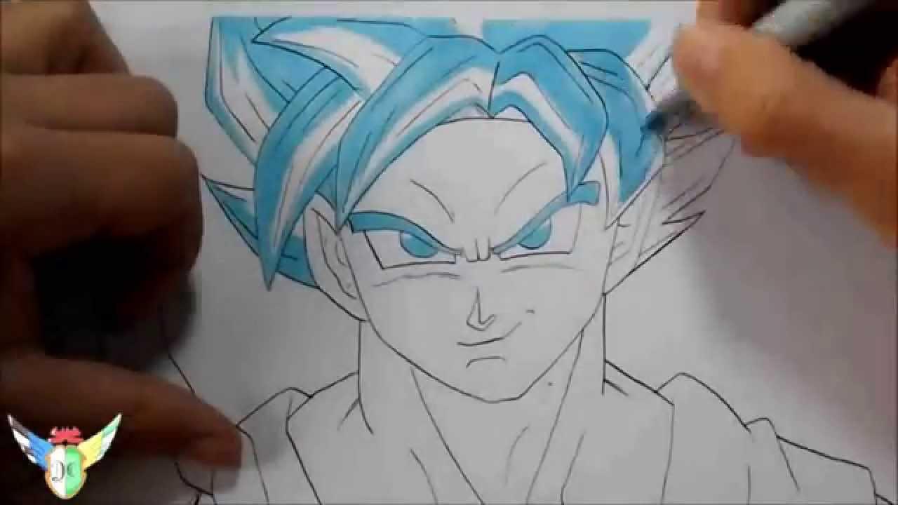 DRAGON BALL Z LA RESURRECCION DE FREEZER Dibujo De Goku En