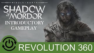 Shadow of Mordor Xbox 360 Introductory Gameplay