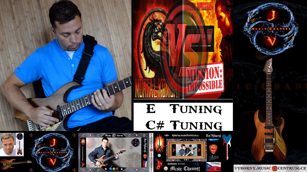MOVIE THEME SONGS - Mortal Kombat vs Mission Impossible (Main Riffs) - YouTube